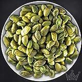 Pistazien Nüsse & Saaten, ganz, 1a grün, ohne Schale, zum Knabbern & für Desserts, 250g - Bremer Gewürzhandel