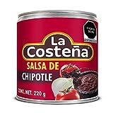 La Costena Salsa Chipotle   200ml   Mexikanische Küche   Pikant mit mit einem rauchigen Aroma   scharf- aber nicht zu scharf   Geeignet zum Verfeinern von Saucen und Dips   Hervorragender Geschmack