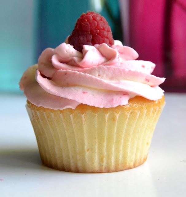 Himbeer Vanille Cupcake
