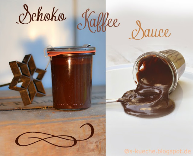 Schokoladensauce / Chocolate-Coffee-Fudge Sauce