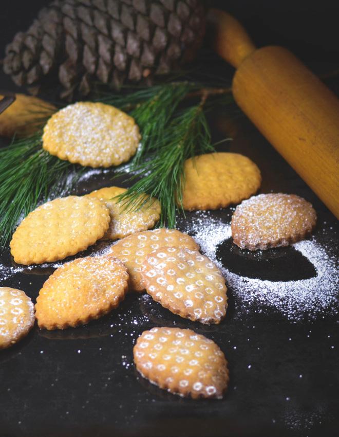 Pinienplätzchen - Pinienzapfen
