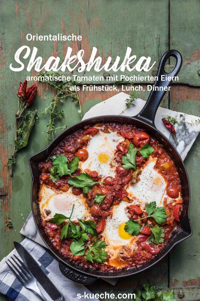 Shakshuka, orientalisches Pfannengericht
