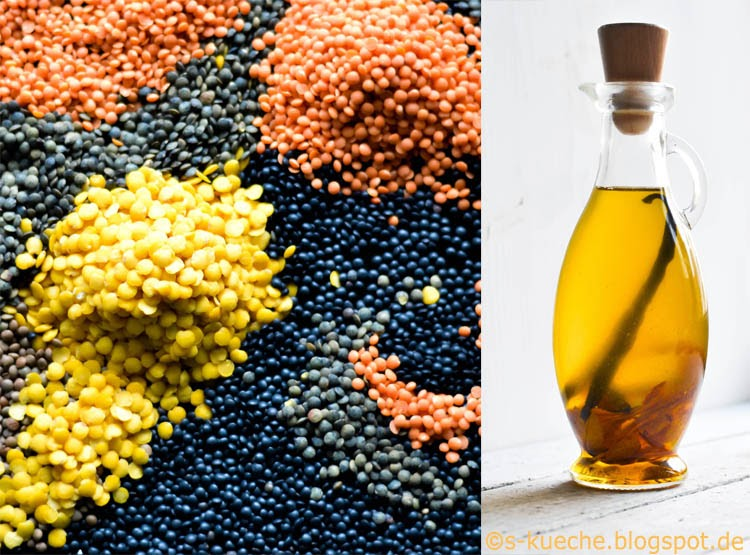 Bunte Linsensuppe S-Küche linsen + Öl