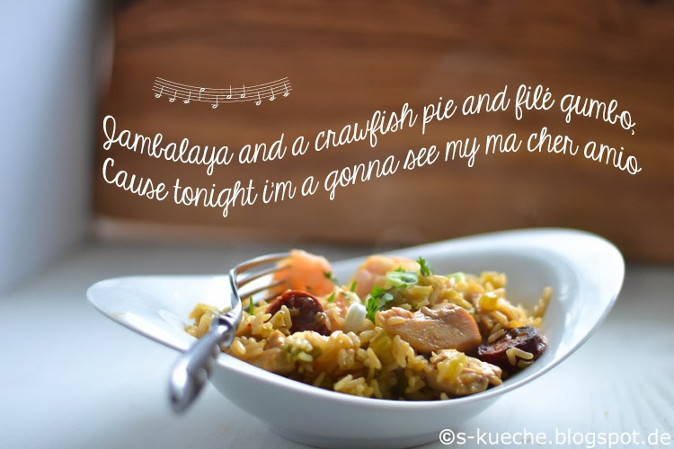 Jambalaya and a crawfish pie and file gumbo