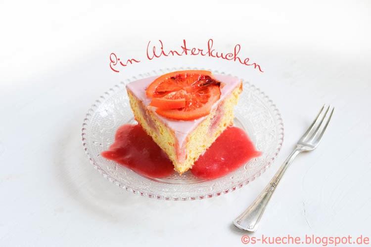 Blutorangen Kuchen