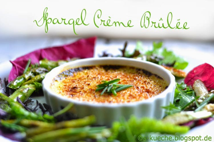 Spargel Crème Brûlèe