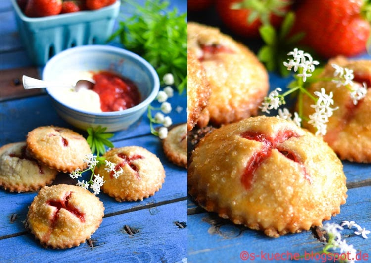 Hand Pies Strawberry and Cream