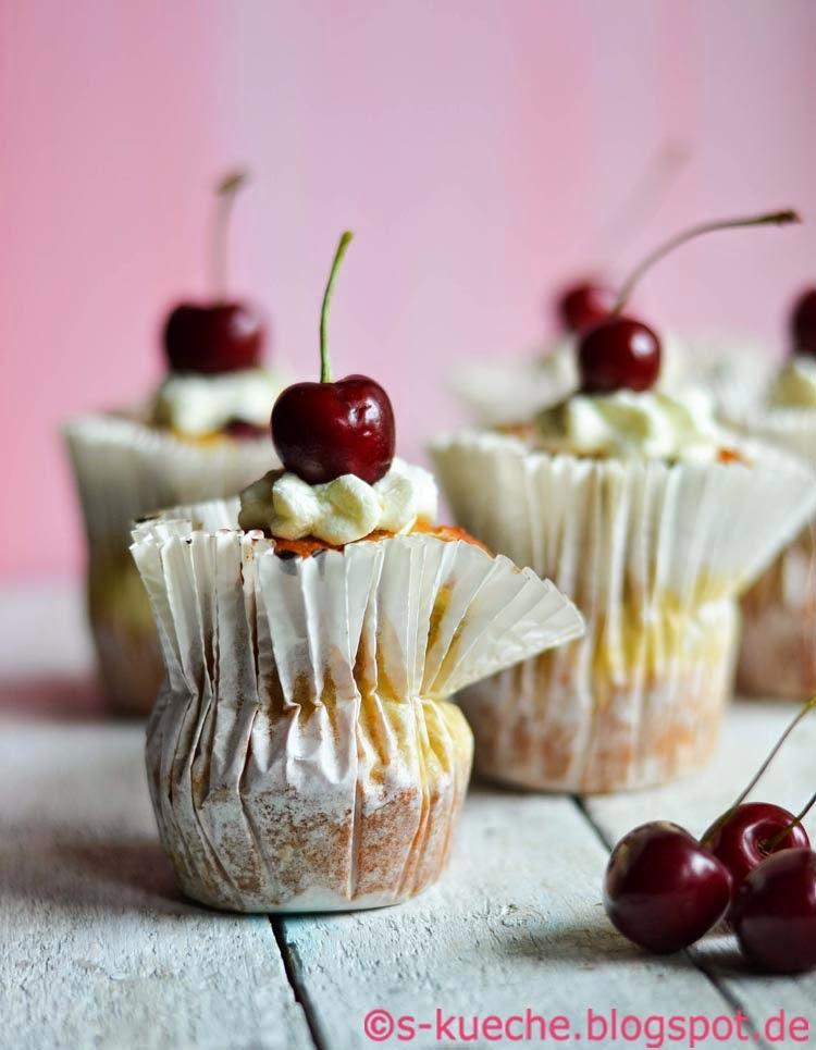 Kirsch Bananen Muffins Just Call Us Kibas S Kuche