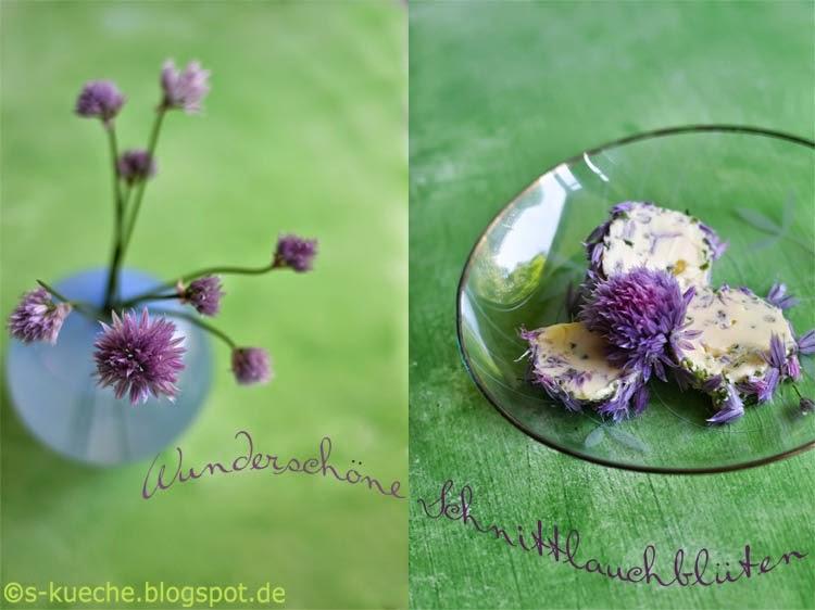 Schnnittlauchblüten-Butter