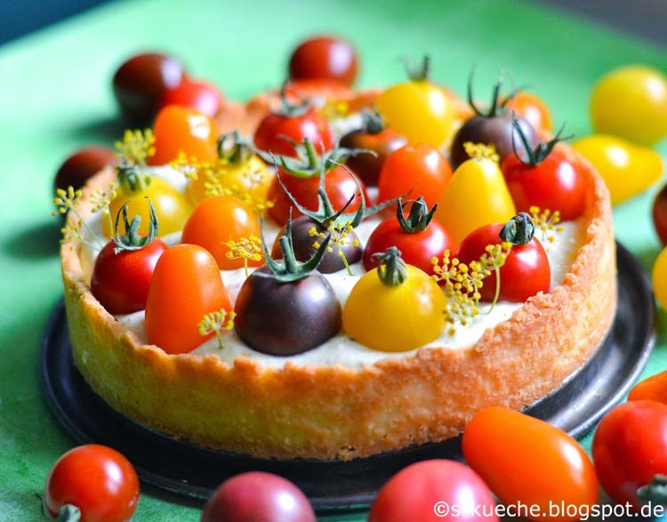 Cheesecake Tomatentarte