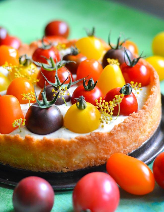 Cheesecake Tomaten Tarte