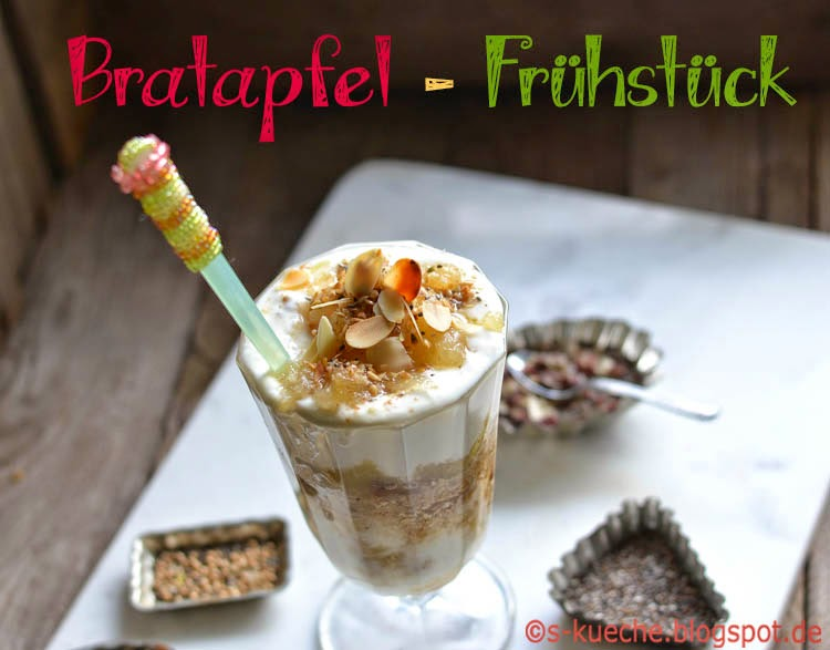 Bratapfel Frühstück