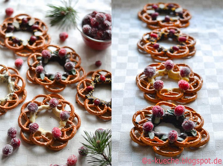 Pretzel Wreath