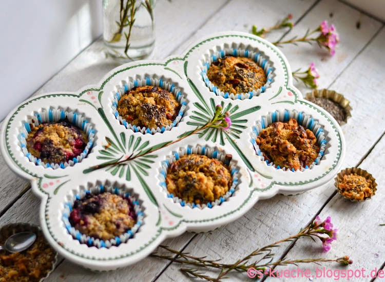 Baked Oats - Morning Muffins