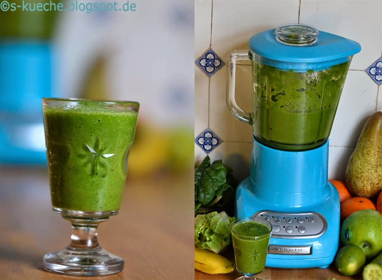 Green Smoothie mit Zimt