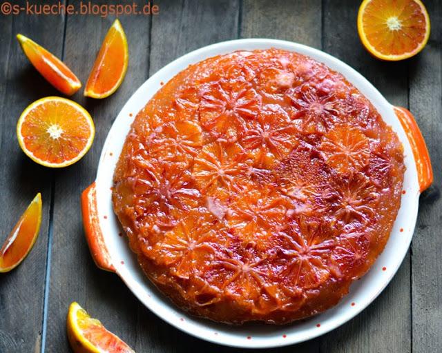 Blutorangenkuchen - Skillet Upside-Down Cake
