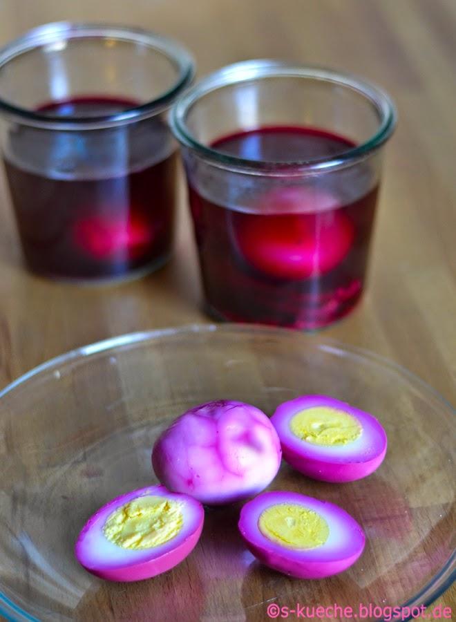 Pickled Beet Eggs - Rote Bete Eier