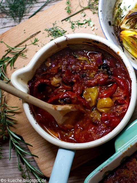 Ketchup aus ofengerösteten Tomaten
