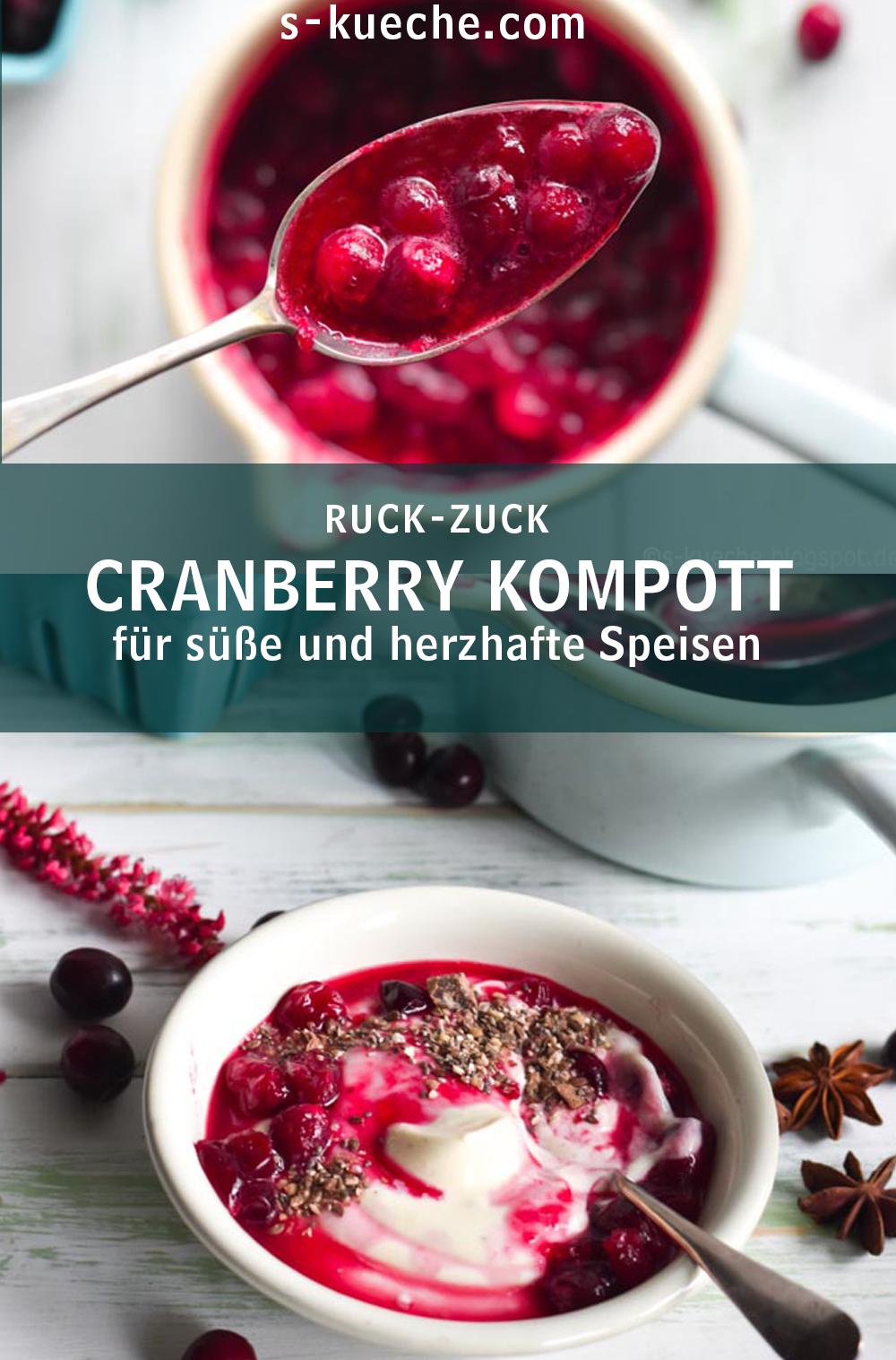 Cranberry Sauce - Cranberry Kompott
