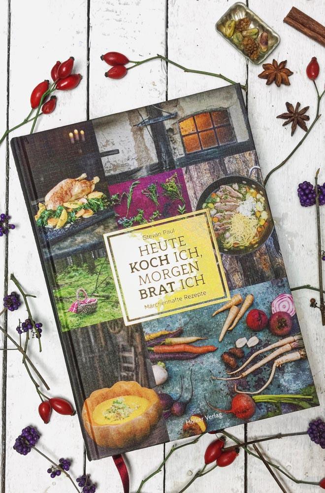 Heute koch ich morgen brat ich von Stevan Paul - 8 Märchen der Gebrüder Grimm neu interpretiert, traumhaft bebildert und bestens bekocht