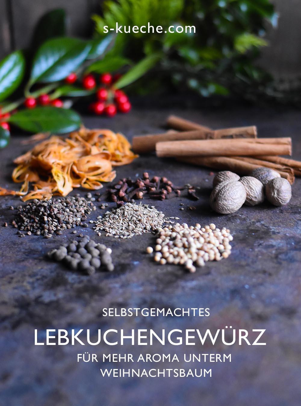 Lebkuchengewürz selbstgemacht - für mehr Aroma