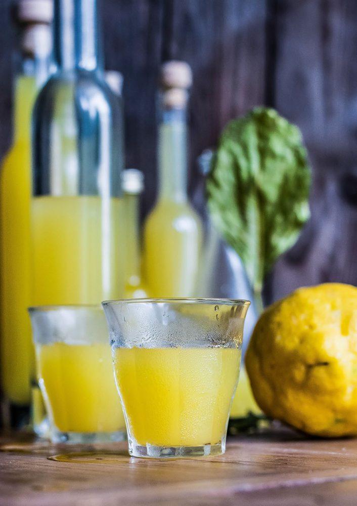 Limoncello - Italienischer Zitronenlikör, das beste Rezept