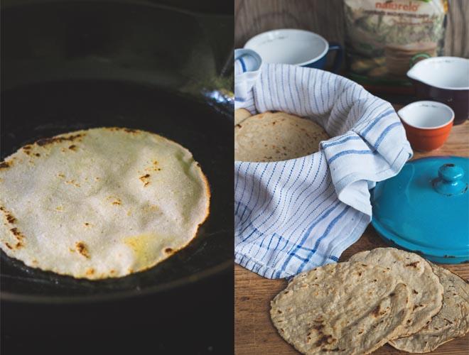 Mais Tortillas homemade