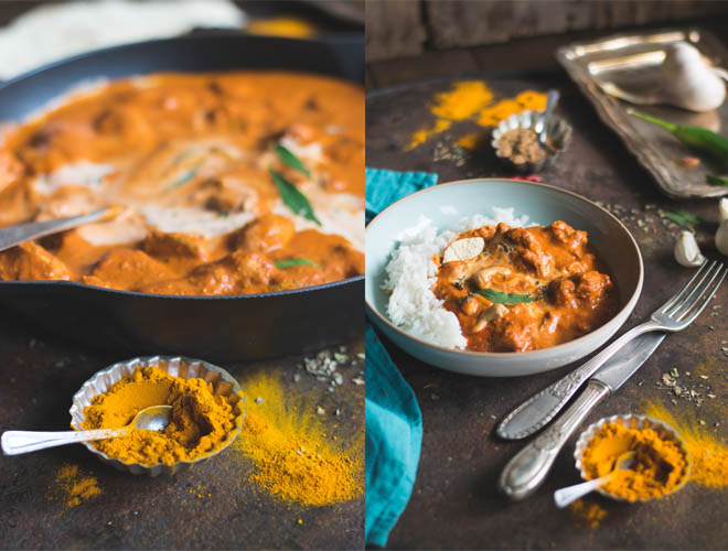 Murgh Makhani - Original Indian Butter Chicken, oder das beste der einfachen indischen Gericht der Welt. fantastisches Rezept mit original indischen Zutaten #butterchicken #murghmaghani #indischeküche #rezept #curry
