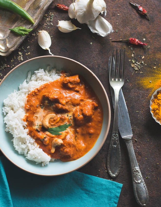 Murgh Makhani - Original Indian Butter Chicken - s-Küche