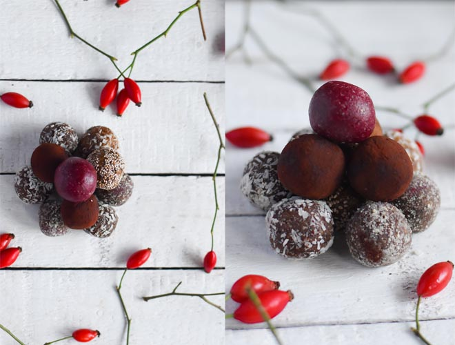 Winter Raw Balls Thermomix Version