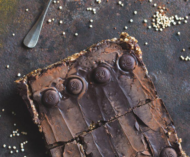 Homemade Erdnuss Riegel - Snickers war gestern - gesünder snacken - vegan, glutenfrei und beinahe zuckerfrei