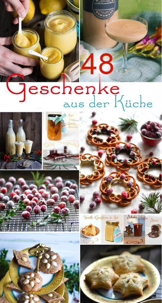 Weihnachtsgeschenke aus der S-Küche - 48 kulinarische Geschenke aus der Küche - süß, pikant, im Glas, Knabbern, Löffeln, Trinken, Genießen #kulinarischegeschenke #geschenkeausderküche #weihnachten #rezept