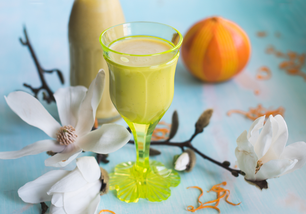 Orangen Eierlikör S Küche