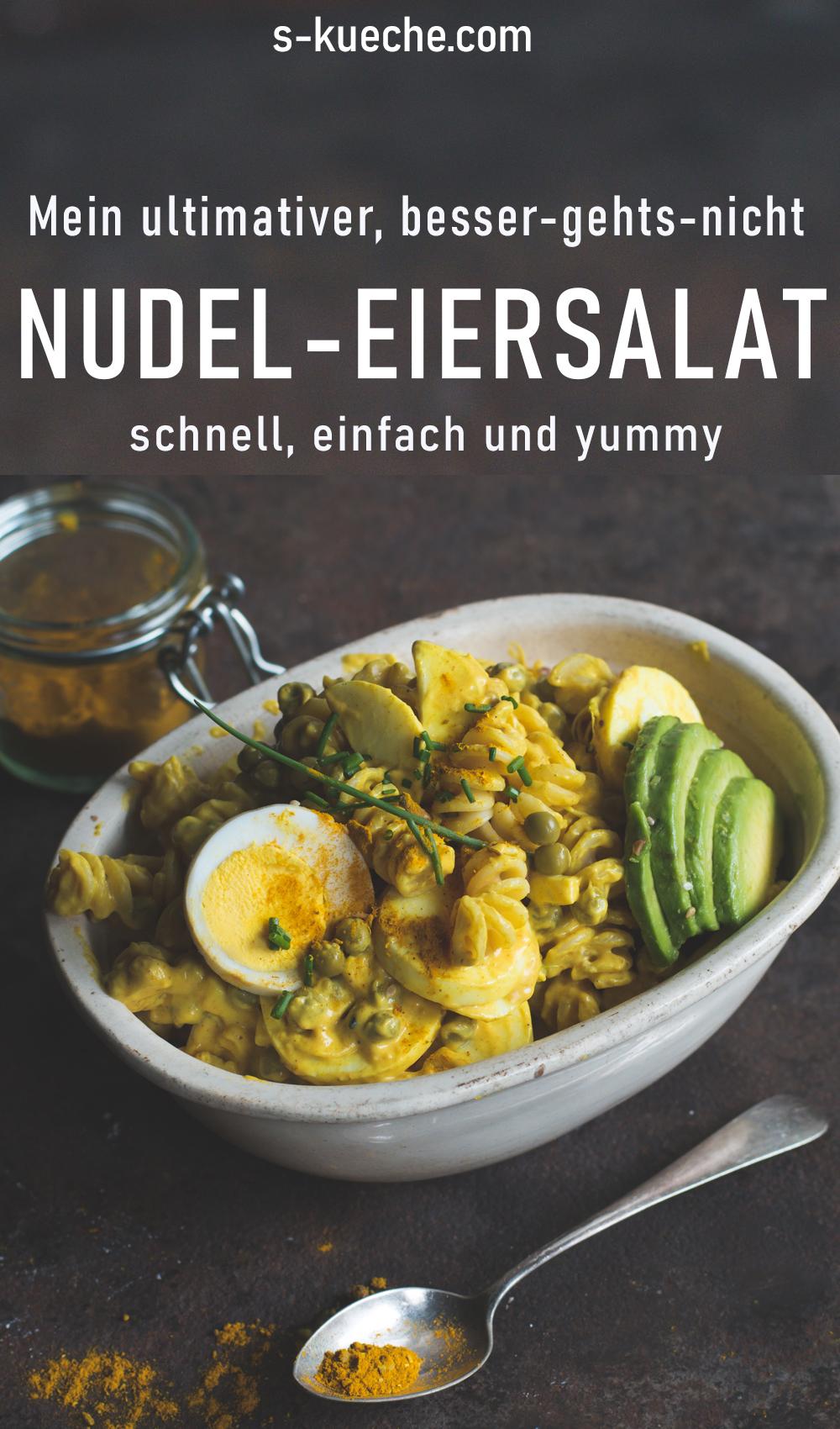 Mein ultimativer Nudel-Eiersalat