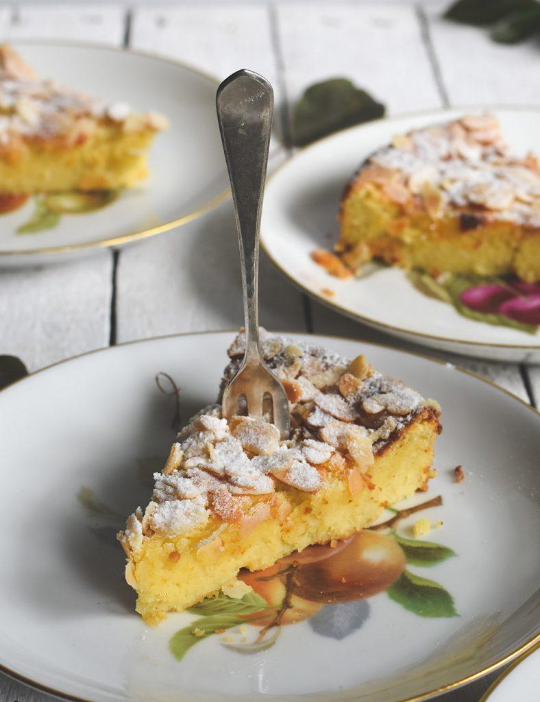 Ricotta-Mandel-Kuchen