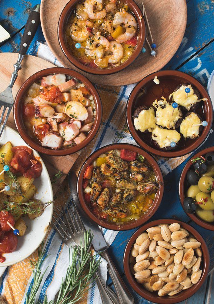 Spanischer Tapas Abend