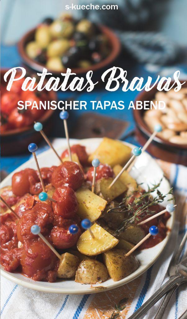 Patatas bravas - Spanischer Tapas Abend