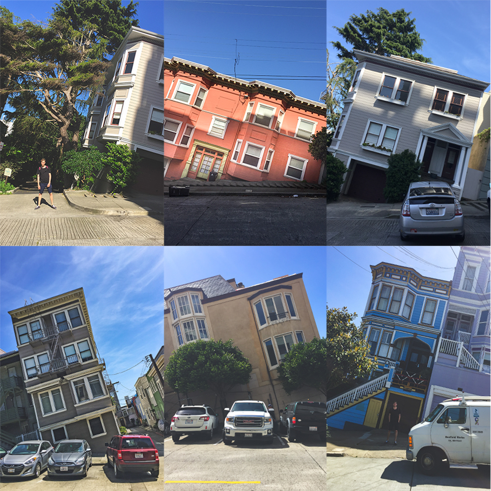 Steepest Streets San Francisco
