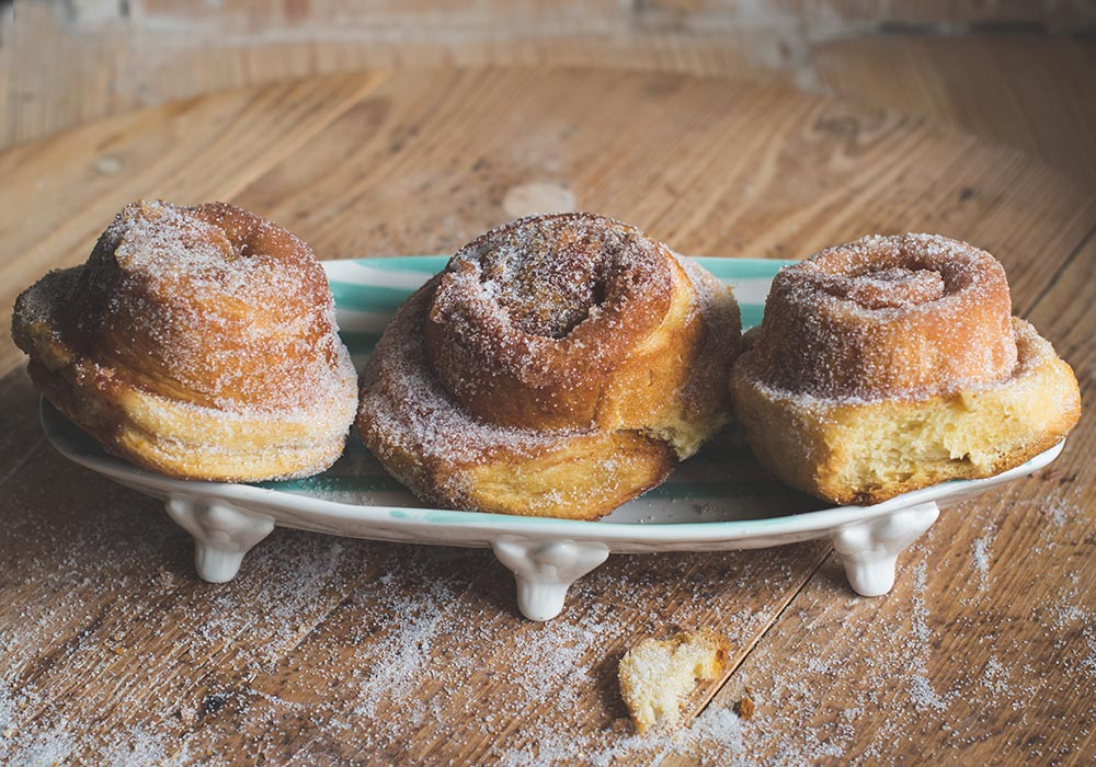Tartine`s Morning Buns mit Orange und Zimt-Zucker