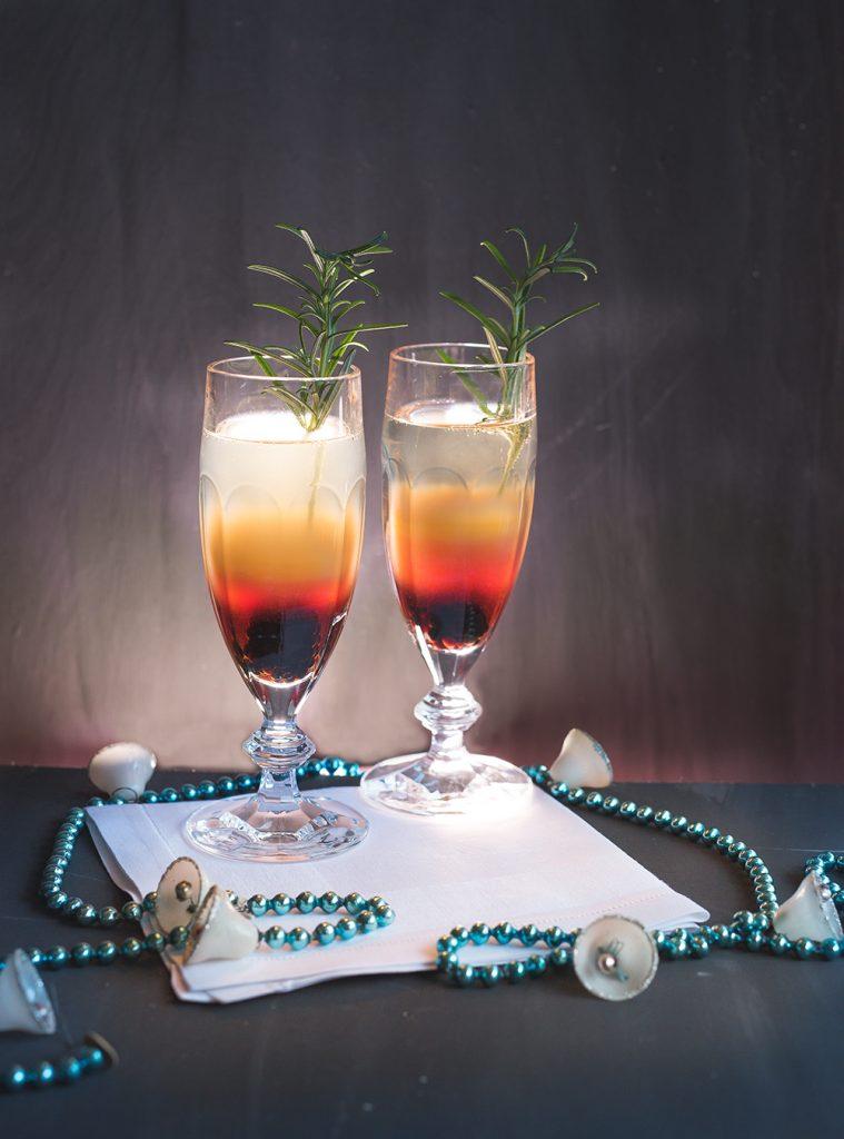 Sloe Gin Cocktails - Sloe Gin Spritz