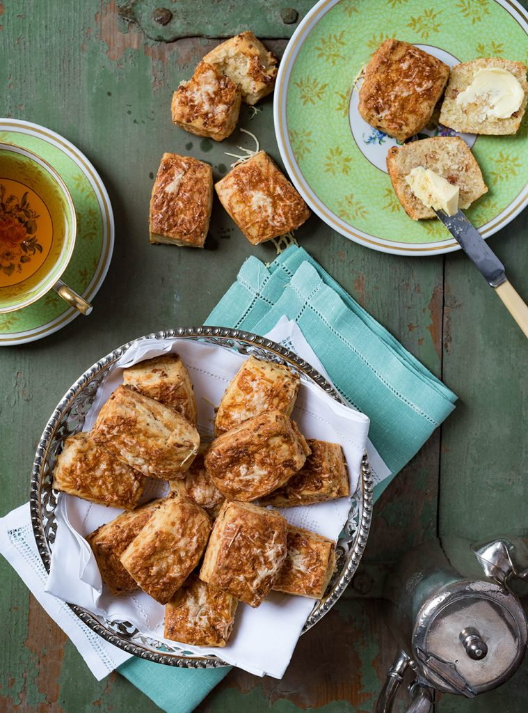Bacon Cheddar Scones - British Breakfast -The Breakfast Club