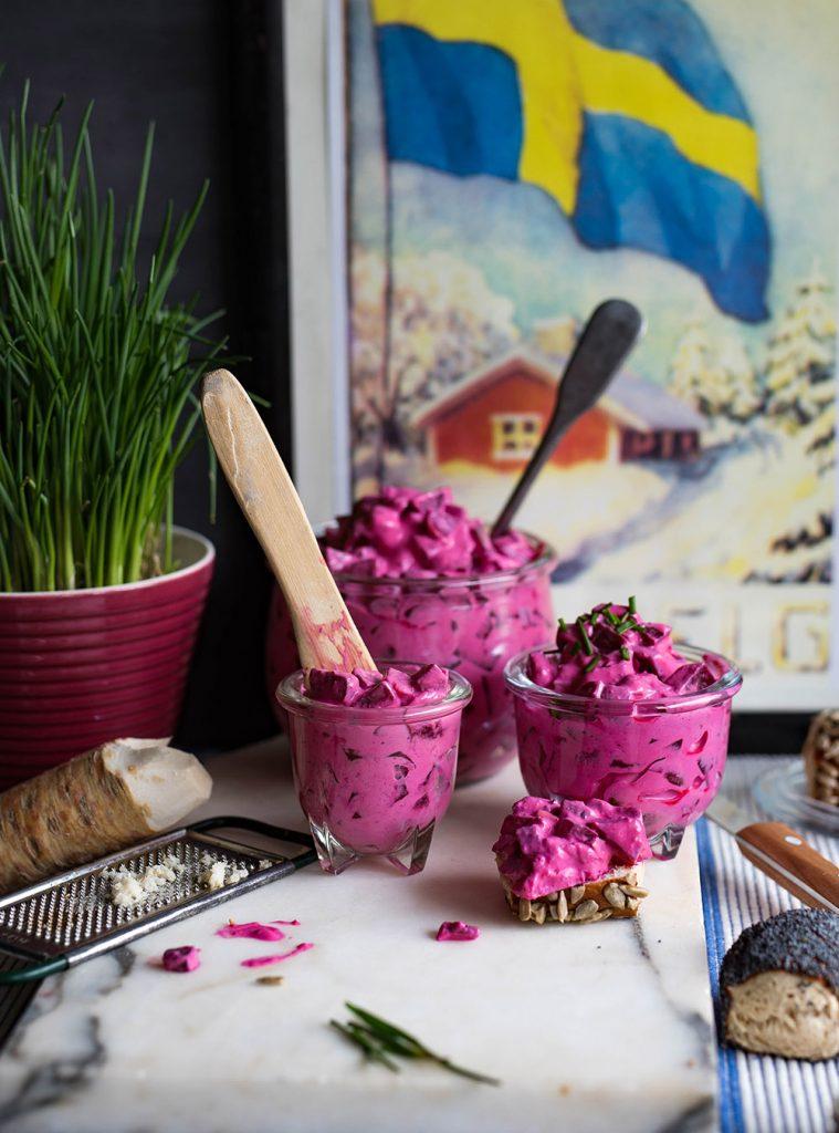 Schwedischer Rote Bete Salat - Rödbetssallad