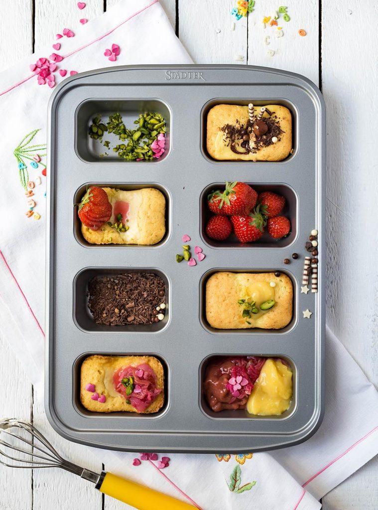 Torta Nua Mini Cakes - Traumhafte italienische Ricotta Küchlein