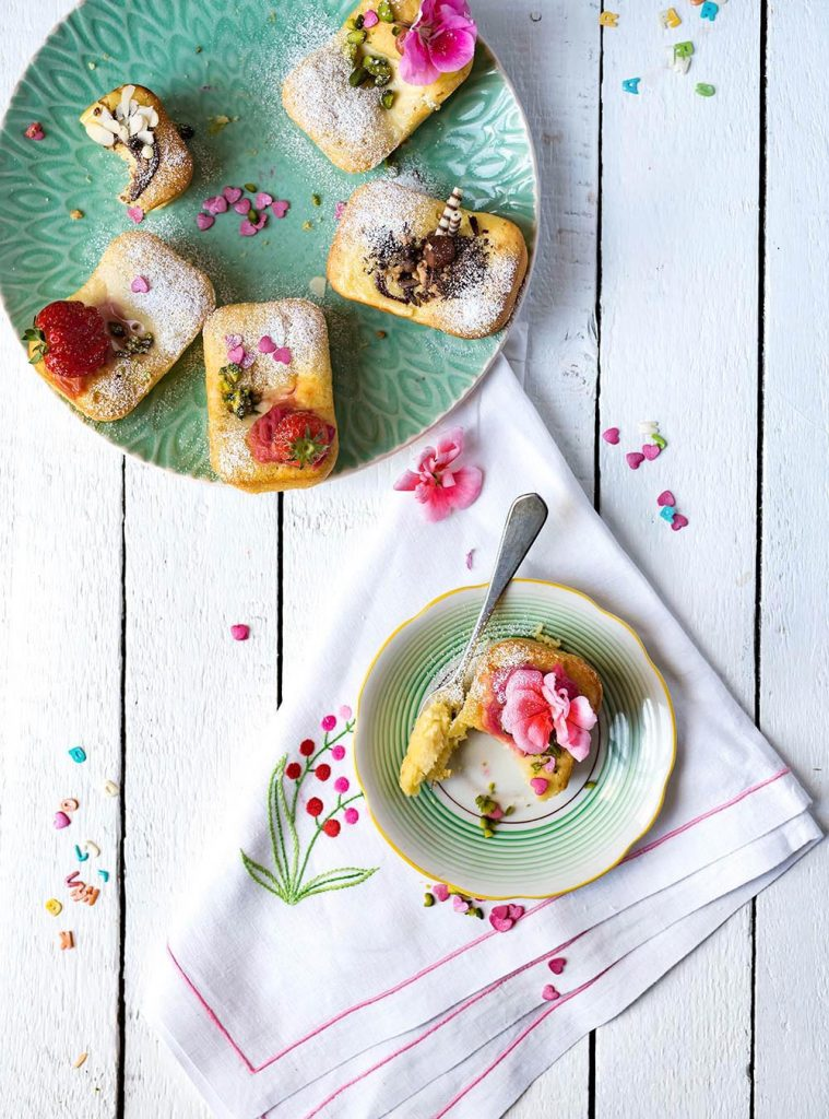 Torta Nua Mini Cakes - Traumhafte italienische Ricotta Küchlein - Mini Cake Backform
