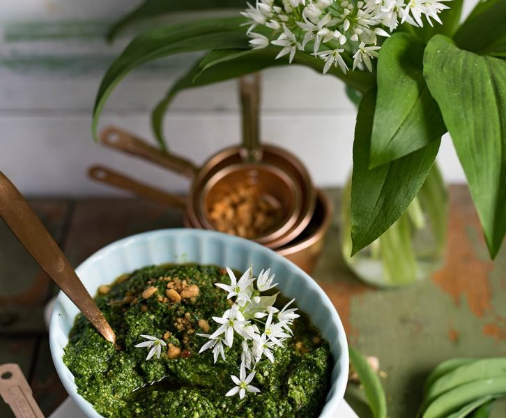 Bärlauchpesto - mein Lieblingsrezept mit dem grünen Frühlingsboten