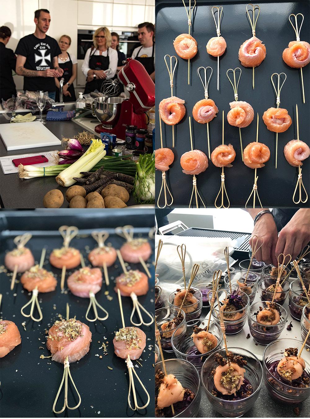 Kochen auf der AEG Taste Academy