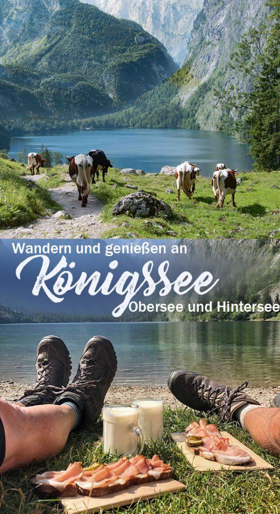 Wandern und Genießen an Königssee, Obersee und Hintersee - Roadtrip Bayern