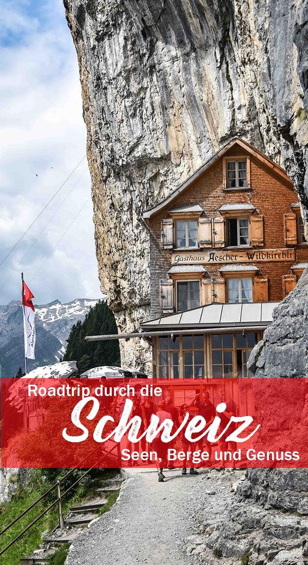 Schweizer Seen, Berge und Genuss - Roadtrip