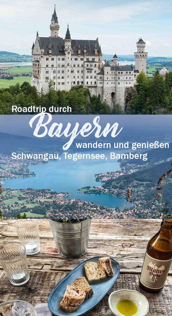 Roadtrip Bayern - Neuschwanstein, Tegernsee, Bamberg