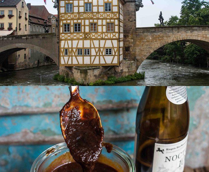 Roadtrip Bayern - Neuschwanstein, Tegernsee, Bamberg - Leicht rauchige, kräftig-würzige Dark Beer BBQ Sauce mit schönem Malzgeschmack